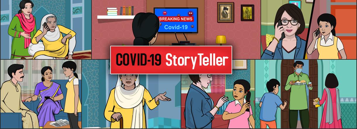 COVID-19 StoryTeller